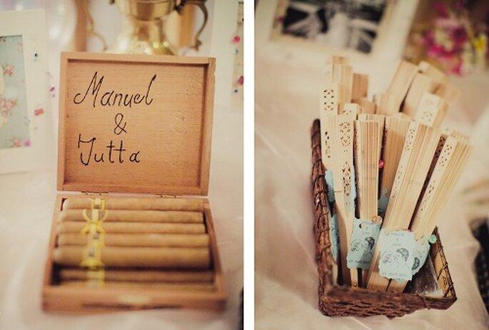 Hochzeit auf Mallorca: die Gastgeschenke. Foto: Nadia Meli.