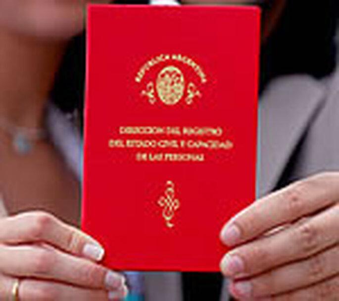 Libreta matrimonial de la Ciudad de Buenos Aires