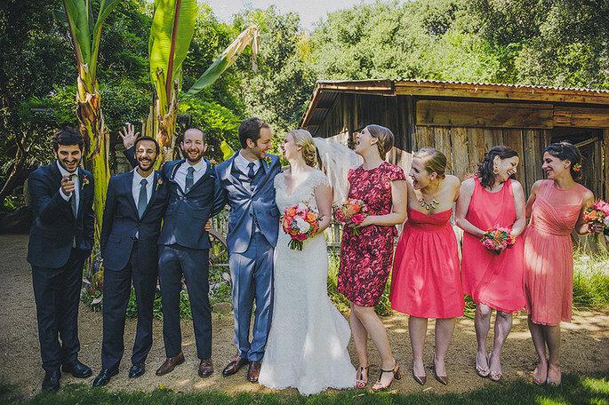 4 razones por las que NO deberías comparar tu boda con la de alguien más. Foto- Lisa Lefringhouse