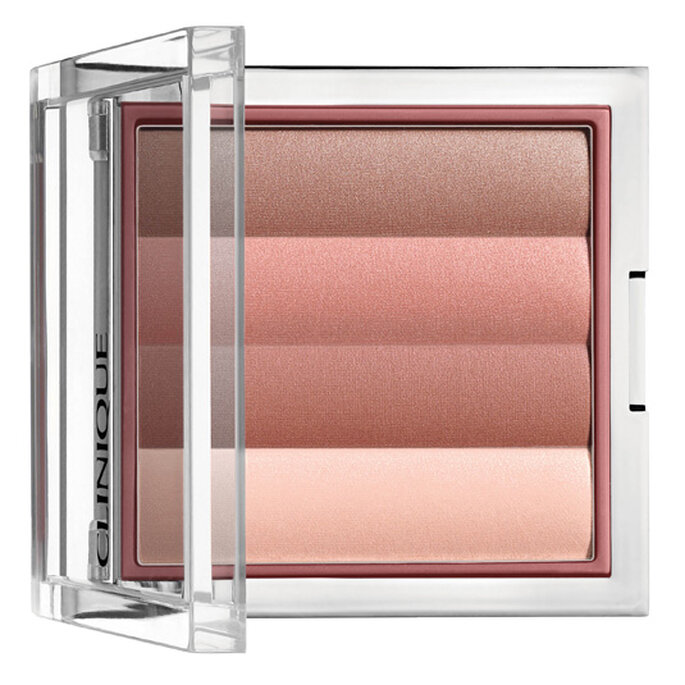 Stripes Powder Blusher, es ideal para dar brillo natural.