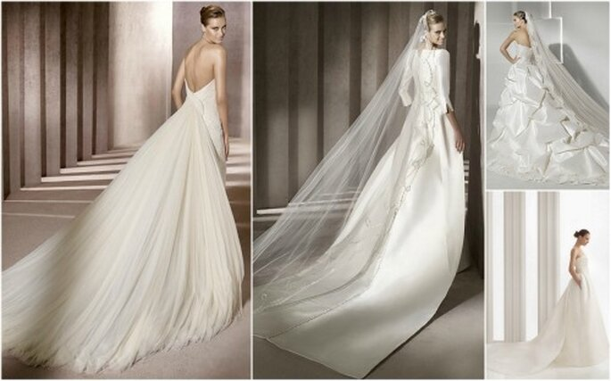 Robes de mariée à traine : à chacune sa longueur !