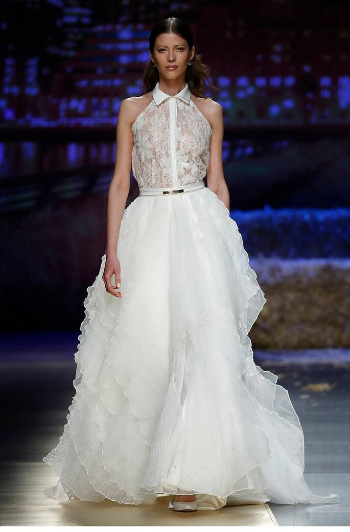 Inmaculada García in Barcelona Bridal Week 2016