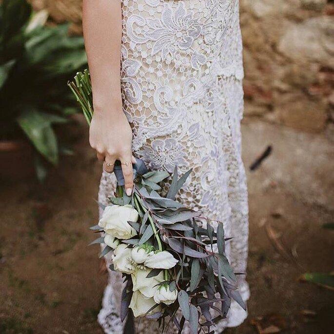 Buquê de flores braçada