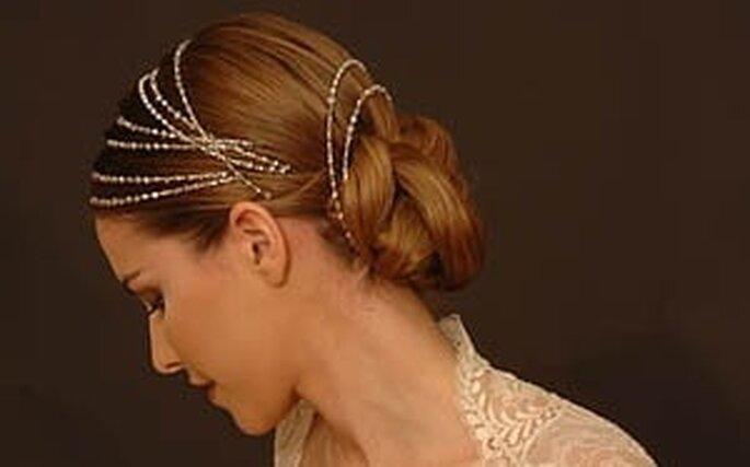 Un peinado digno de princesa también puedes llevarlo el día de tu boda