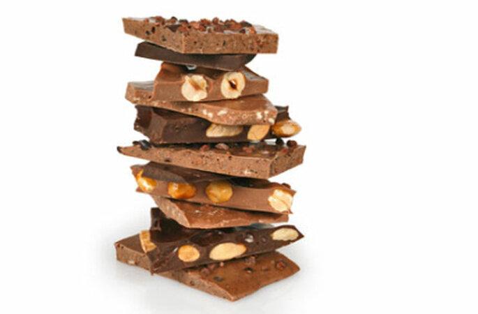 Schokoladen-Verkostung - mmmmmh, lecker!