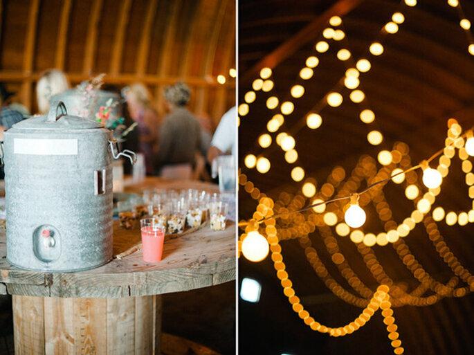 Bebidas súper originales para tu boda - Foto Jeff Sampson