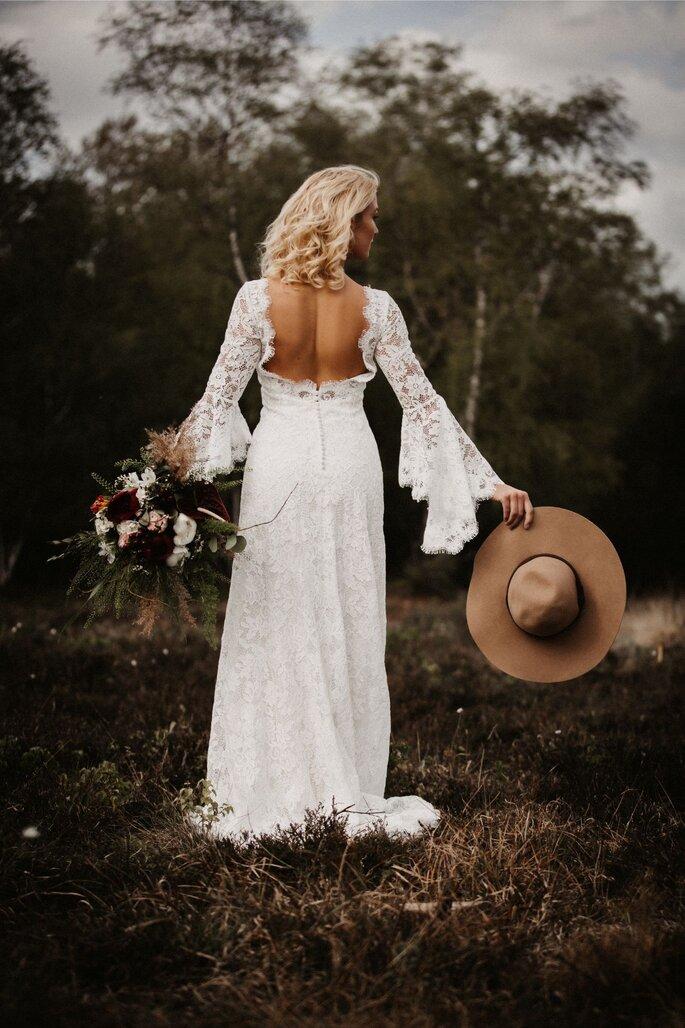 Afterweddingshooting im Bohostil