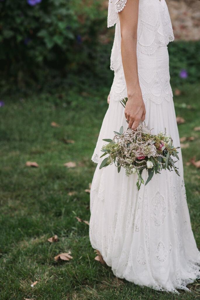 Decoración de boda estilo bohemian chic - Foto Sara Lobla