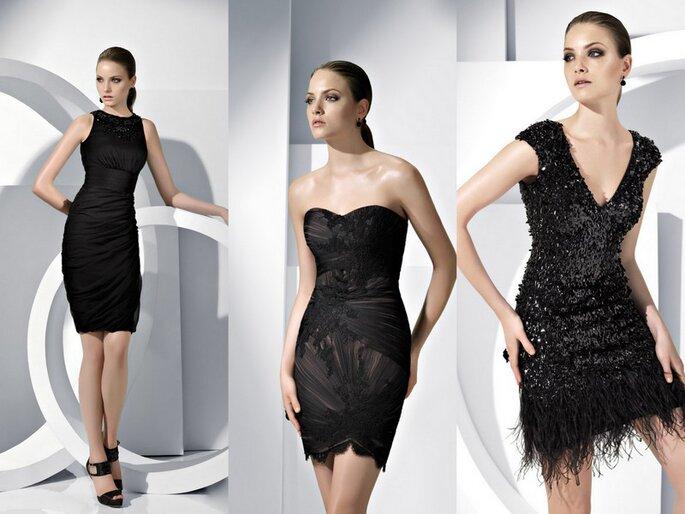 Vestidos cortos de la coleccion Pronovias 2012