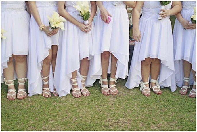 Real Wedding: Una boda perfecta en blanco - Foto Cherryblocks
