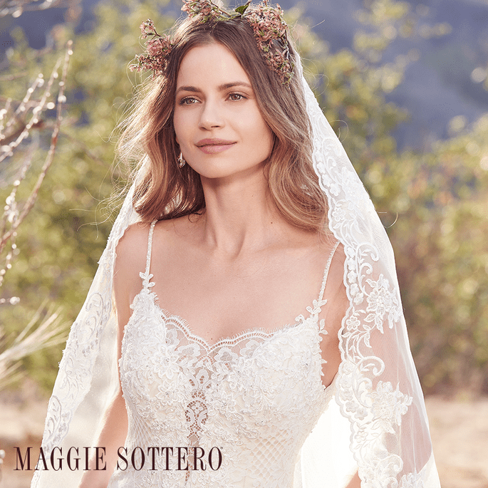 Ida.  Maggie Sottero: Cordelia Collection.