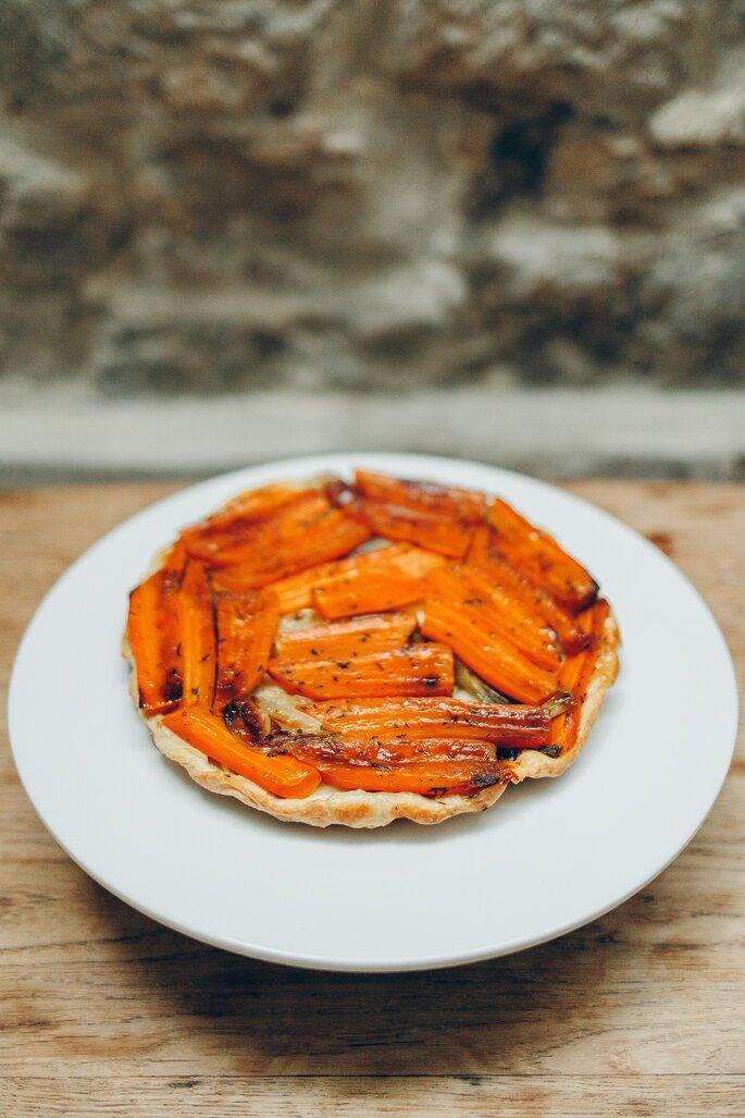 Photo : Fabien Courmont - Chloé cuisine en vert