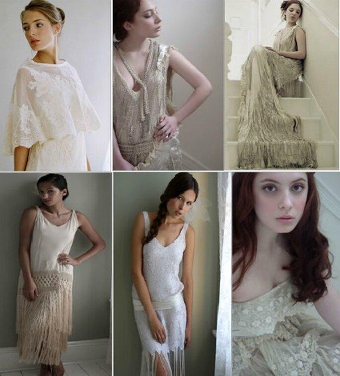 Robes de mariée vintage - Photo : Zankyou.com/it