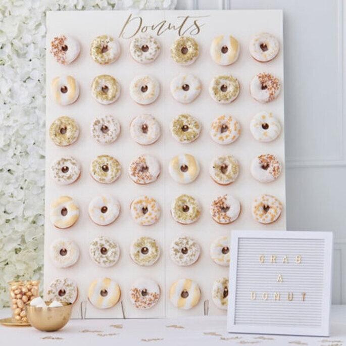 Donuts pour un candy bar