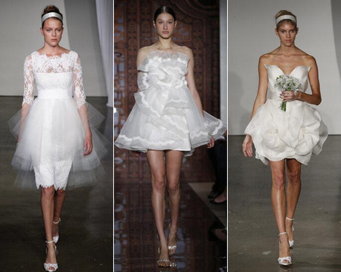 Kurze Brautkleider mit dem gewissen Etwas – Foto: Reem Acra