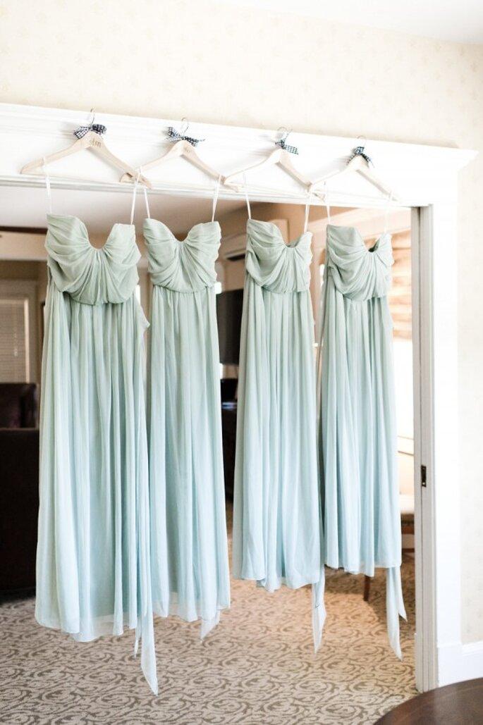 La sombra perfecta de azul para los vestidos de tus damas - Foto Brita Photography