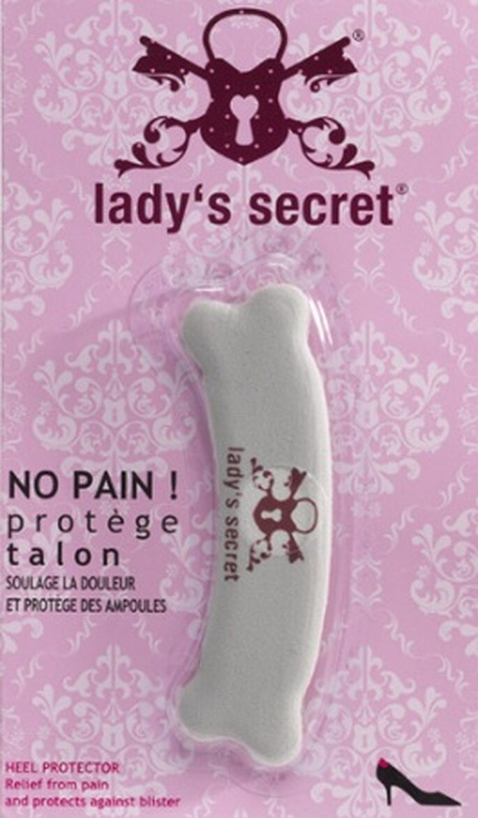 """No Pain"" protège talon - Lady's Secret"