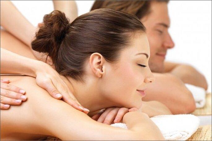 Regala un masaje para parejas recién casadas - foto The Spa on Green Street