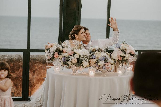 Il Mio Matrimonio Wedding Planners - tavolo degli sposi