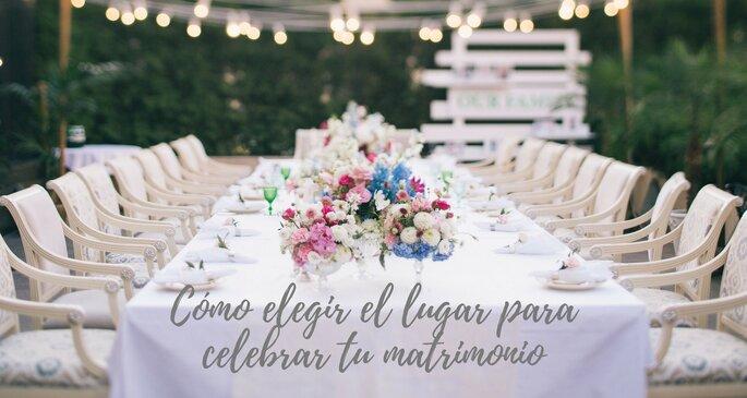 Como elegir el lugar para celebrar tu matrimonio
