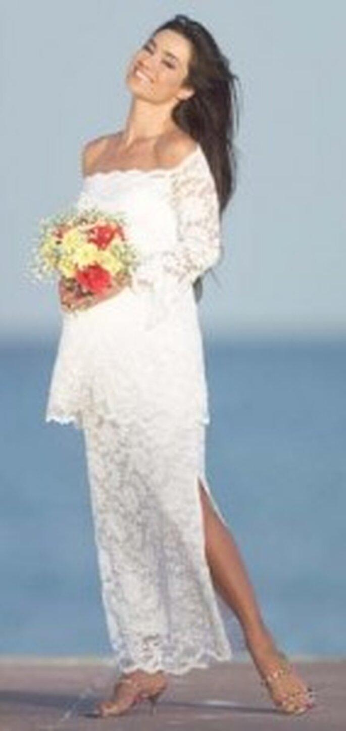 Vestidos de novia para embarazadas México