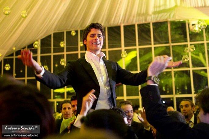 Disfrutar de una boda cuando estás organizando tu propia boda. Foto Antonio Saucedo