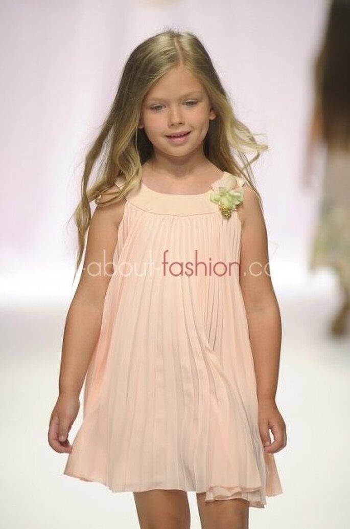 Trendige Blumenmädchen-Kleider von Blumarine – Foto: Blumarine