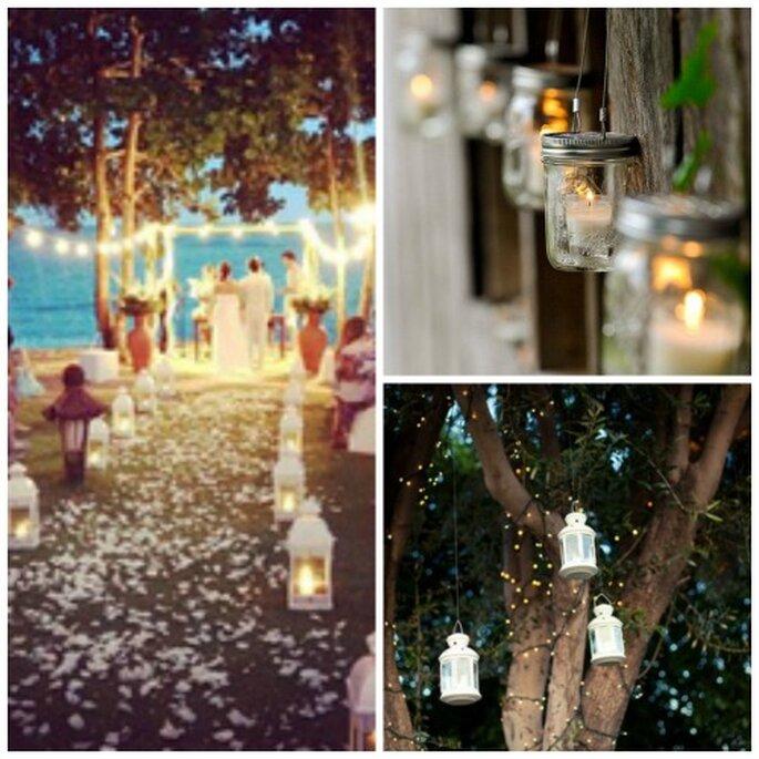 ... idées pour la décoration de votre cérémonie laïque en plein air