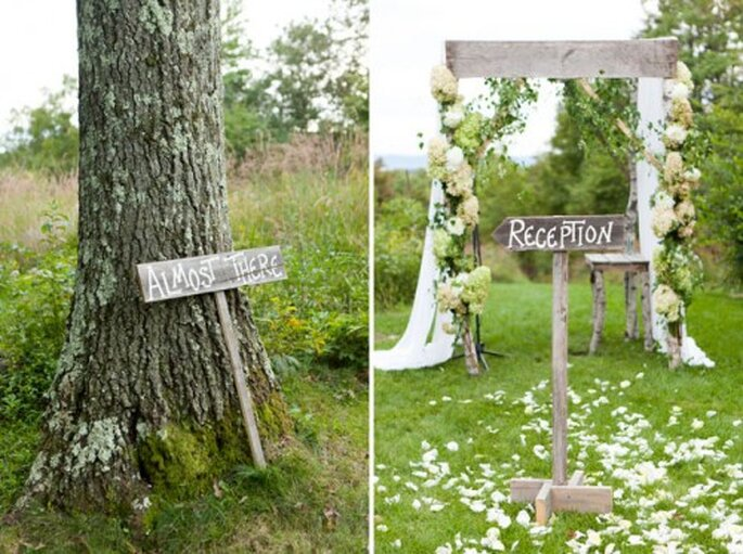 Romantisch heiraten mit Green Wedding – Foto: Green wedding shoes
