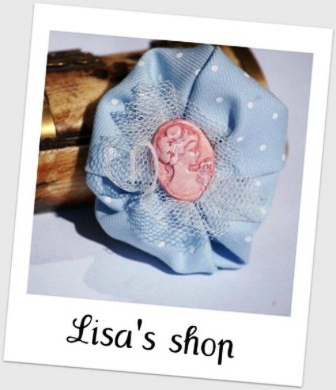 Broche para regalar como detalle de boda - La Tienda de Lisa
