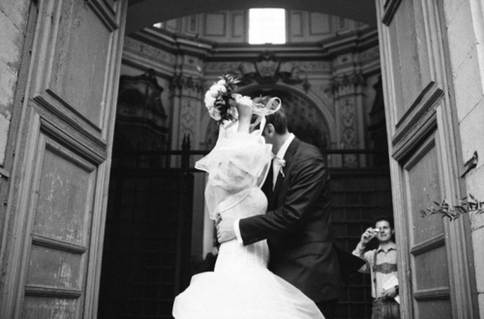 Estilo de boda de una novia clásica - Foto Nadia Meli