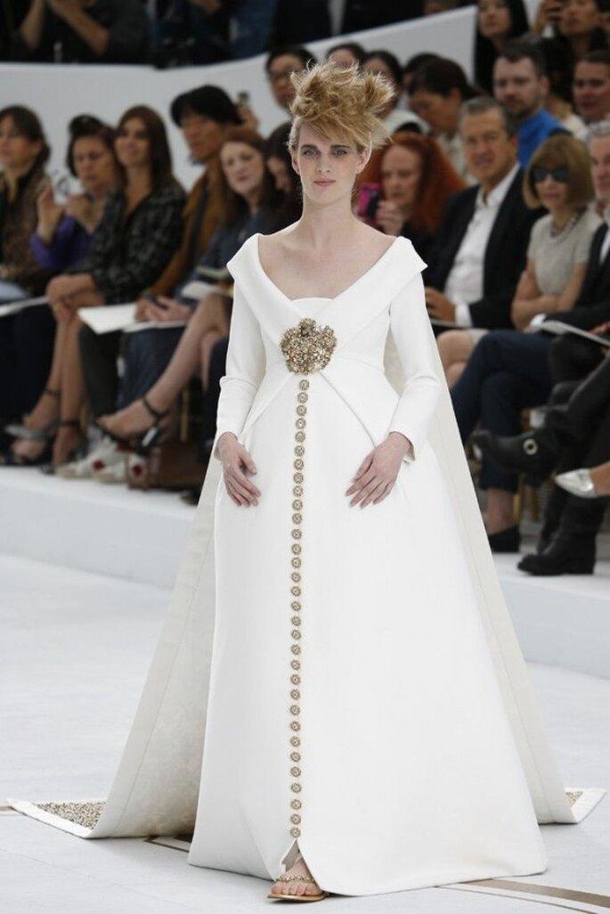 Los más hermosos vestidos de novia de las colecciones alta costura - Foto Chanel
