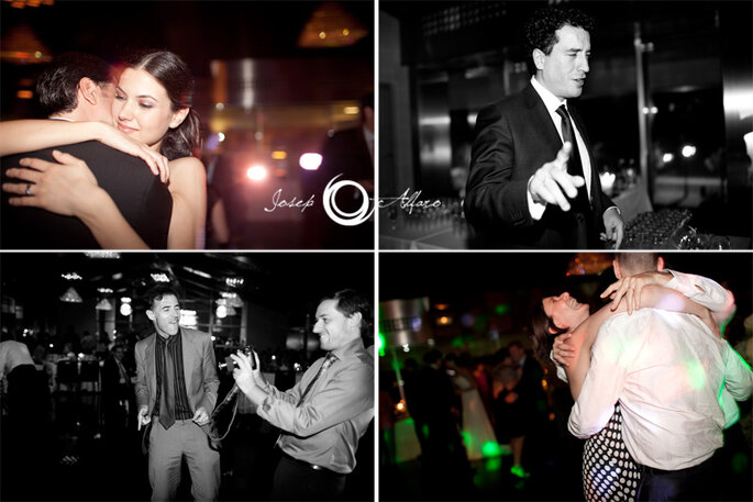 Die Gäste sind beim Hochzeitsfilm drehen Regisseure als auch Statisten - Foto: Josep Álfaro
