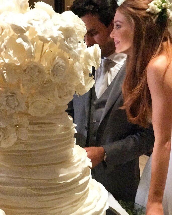 Bolo casamento Marina Ruy Barbosa