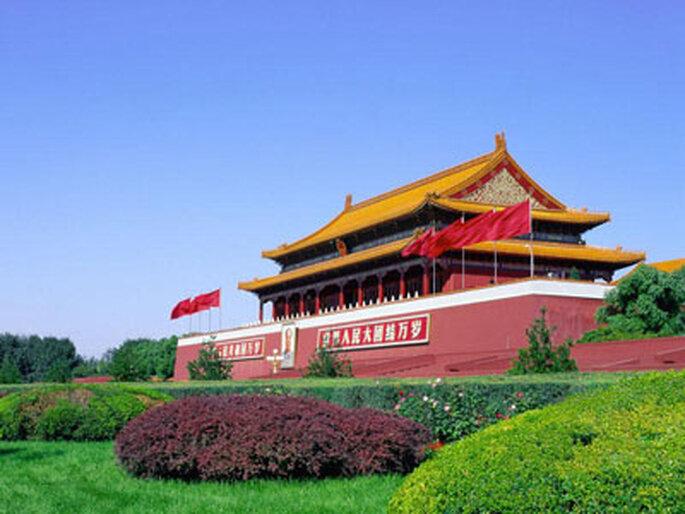 La place Tiananmen à Beijing
