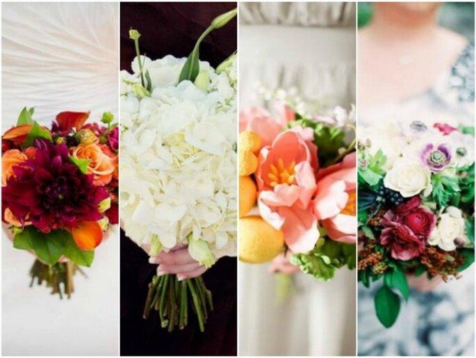 Selección Zankyou de bouquets de novia