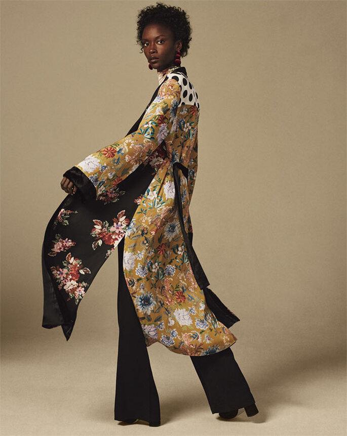 Vestiti Cerimonia Kimono.Kimono E Pantaloni L Accoppiata Perfetta Per L Invitata 2018