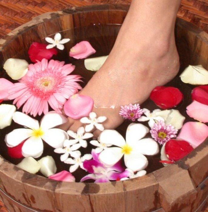 Si vas a lucir sandalias debes darle un adecaudo cuidado a los pies. Foto: Sichiarai Tichakorn