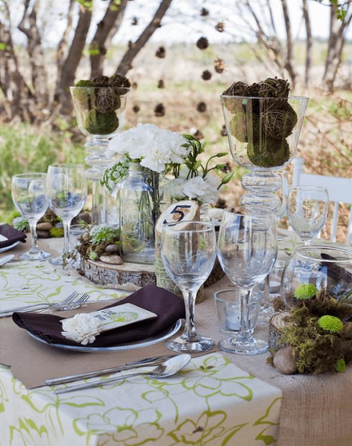 Puedes usarlas para cenas íntimas o grandes banquetes - Foto Andrea Wiseman