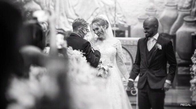 Cumplicidade entre cerimonialista e noiva