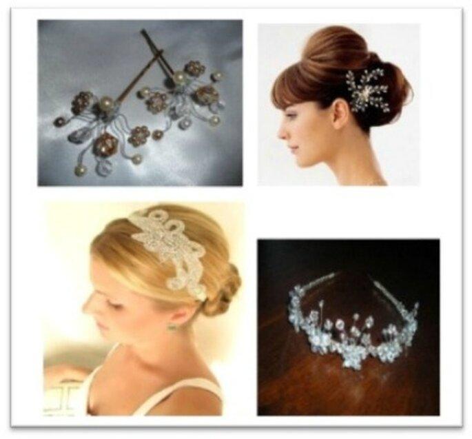 Accesorios para el cabello hechos con Cristal Swarovski