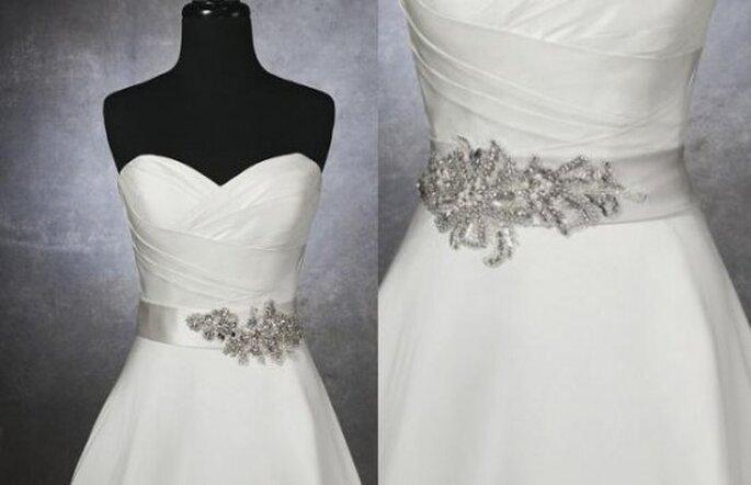 un toque brillante: cinturones para vestidos de novia