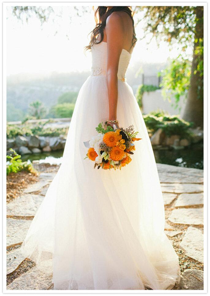 Ramo de novia para el Día de Acción de Gracias. Foto de TheKnot.com