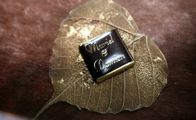 Une valeur sûre, le chocolat... - Copyright : Chocolat de mariage