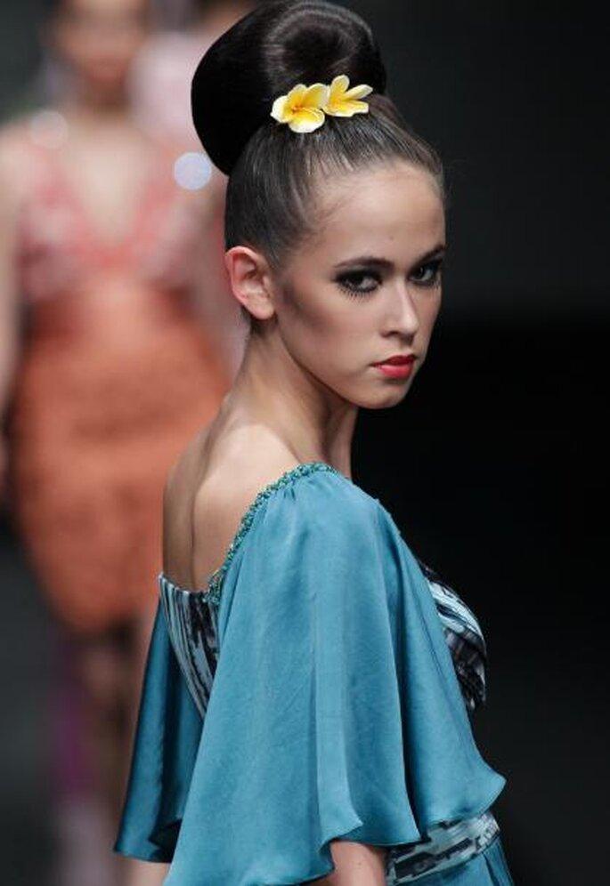 Tendencias moda en peinados 2012. Foto de Image.net.