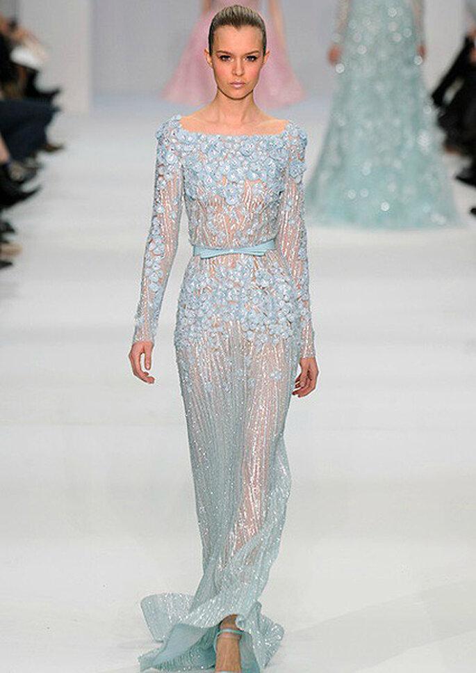 L'abito Elie Saab Haute Couture indossato da Blair per il suo matrimonio con Chuck Bass. Foto: Elie Saab