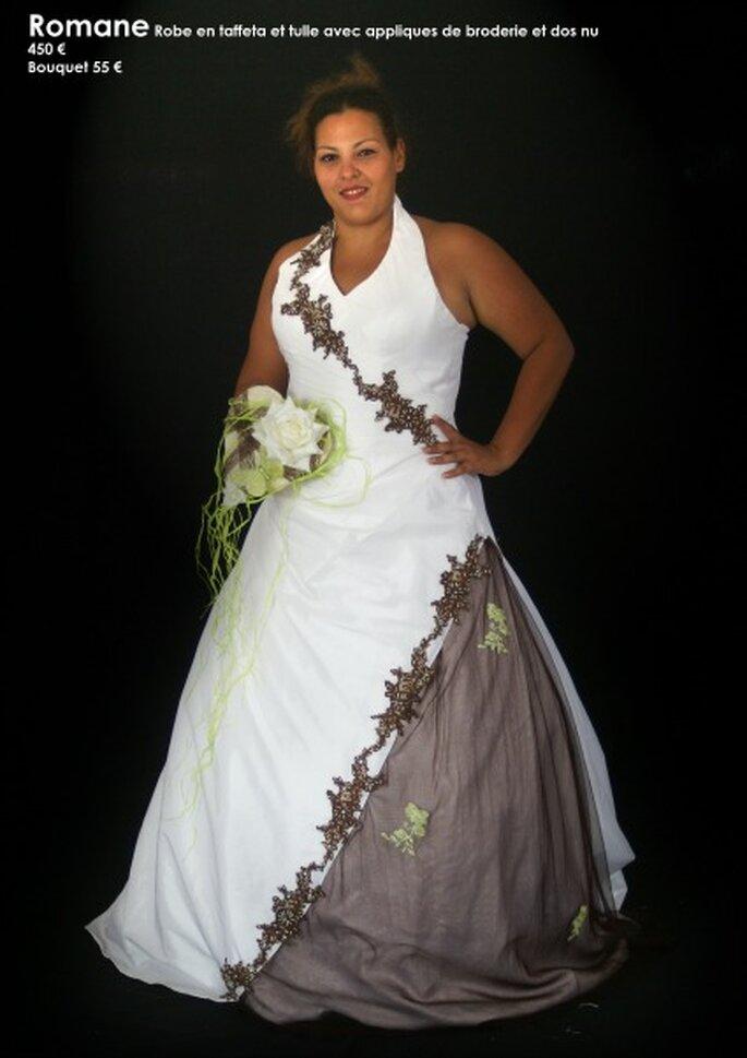 Au coeur d'un rêve : des robes de mariée personnalisables à un prix unique - Source : Au coeur d'un rêve, modèle Romane