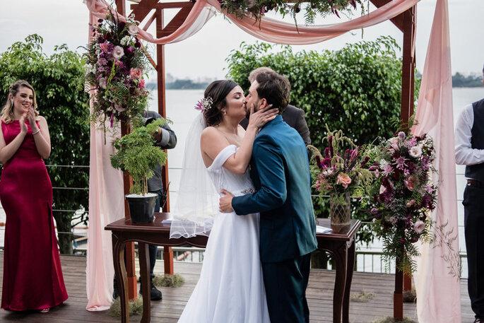 casamento boho-chique ao ar livre