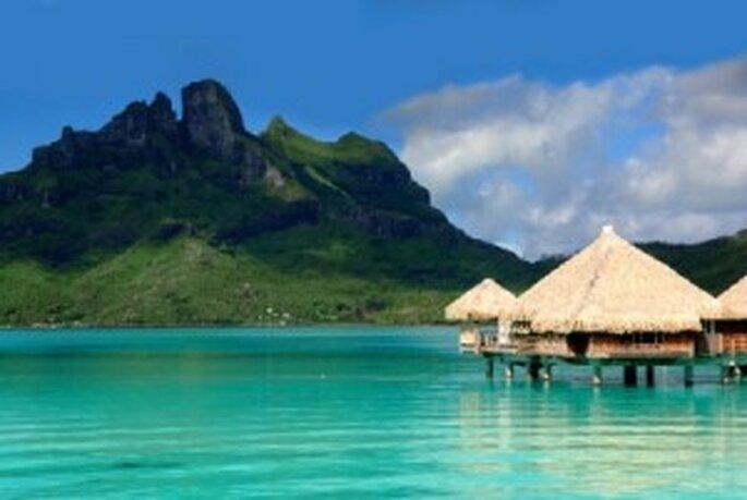 St Regis, en Bora Bora. Un destino para lunas de miel de famosos