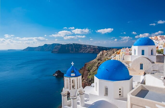 Asalgarve. Grécia-Santorini